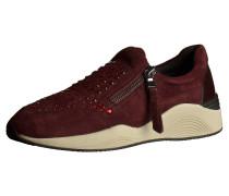 Sneaker burgunder / wollweiß