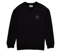 Sweatshirt 'Downhill Crew' schwarz