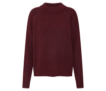 Pullover 'rib Knit Sweater' bordeaux