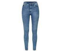 Jeans 'High Skin' blau