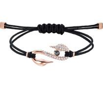 Armband 'impulse' rosegold / schwarz
