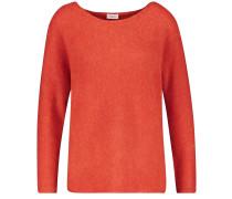 Pullover kirschrot