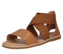 Sandale 'Ella' braun