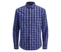 Hemd violettblau