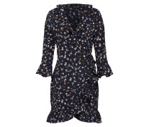 Kleid 'Bethany Floral' creme / nachtblau