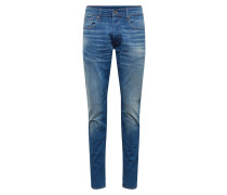Jeans '3301 Tapered' blue denim