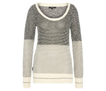 Pullover 'Biquet' beige / grau