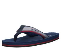 Herren - Slipper 'Breeze' dunkelblau / grau