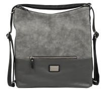 Handtasche grau / silber