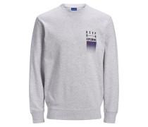 Urlaubsprint Sweatshirt grau