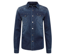 Hemd 'Fred 6866' blue denim