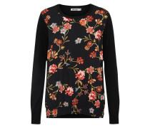 Pullover 'ladies' rot / schwarz