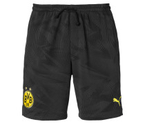 Shorts anthrazit / schwarz / hellgelb