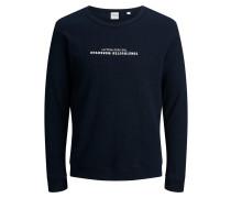 Rundhalsausschnitt Sweatshirt navy