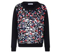 Sweatshirt 'dalmata' schwarz