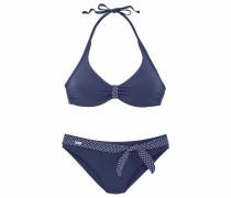 Bügel-Bikini navy