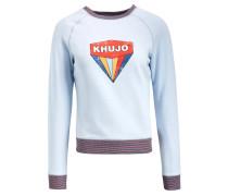 Sweatshirt 'Darinka' hellblau / mischfarben