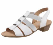 Sandalette weiß