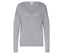 Pullover 'mafa V Ls2' grau