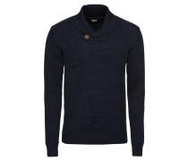 Pullover 'Knit - Thune' dunkelblau