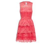 Kleid mit Spitze koralle