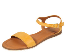 Sandale 'lara' gelb