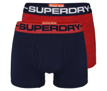 Boxer Brief 'sport' navy / rot