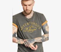 Shirt 'tover' dunkelgrau
