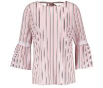 Bluse rosa / schwarz / weiß