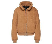 Jacke 'jacket Teddy' beige