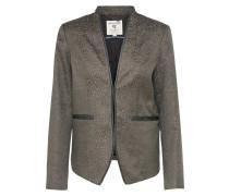 Blazer 'ladies jacket' brokat / schwarz