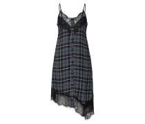 Kleid 'Jonna' grün / schwarz