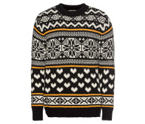 Pullover 'Chunky pullover with fair isle intarsia patterns'