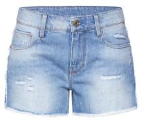 Jeans '3301 Fringe Mid bf Short Wmn'