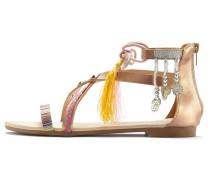 Sandale champagner / mischfarben
