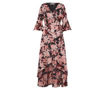 Kleid 'ka5943' pink / schwarz