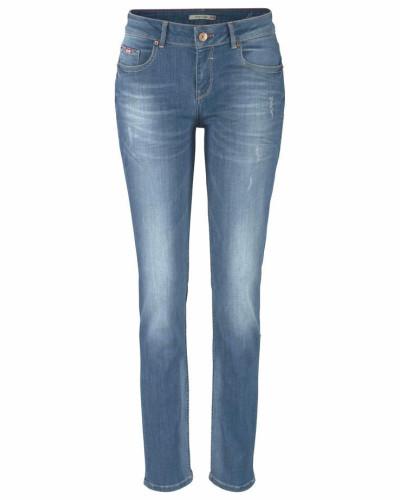 Stretch-Jeans 'Monroe' blue denim / hellblau