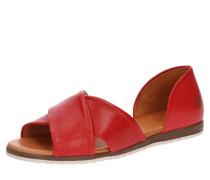 Sandale 'Chiusi' rot