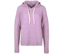Strickpullover 'hoody Boxy' hellpink