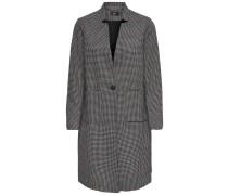 Mantel grau / schwarz