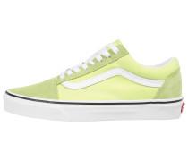 Sneaker 'Old Skool' neongelb / apfel / weiß