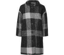 Mantel anthrazit / graumeliert
