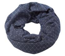 Schal blau / grau / weiß