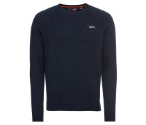 Pullover 'orange Label Vee' navy