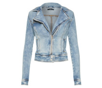 Bikerjacke 'Ellen' blue denim