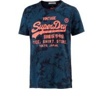T-Shirt ultramarinblau / himmelblau