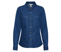 Bluse blue denim