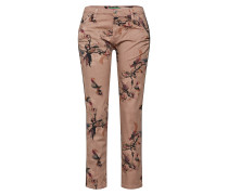 Jeans beige / rosa