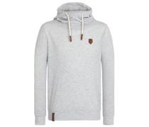 Sweatshirt 'Diese Nüsse' grau