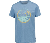 'along THE Road' T-Shirt hellblau